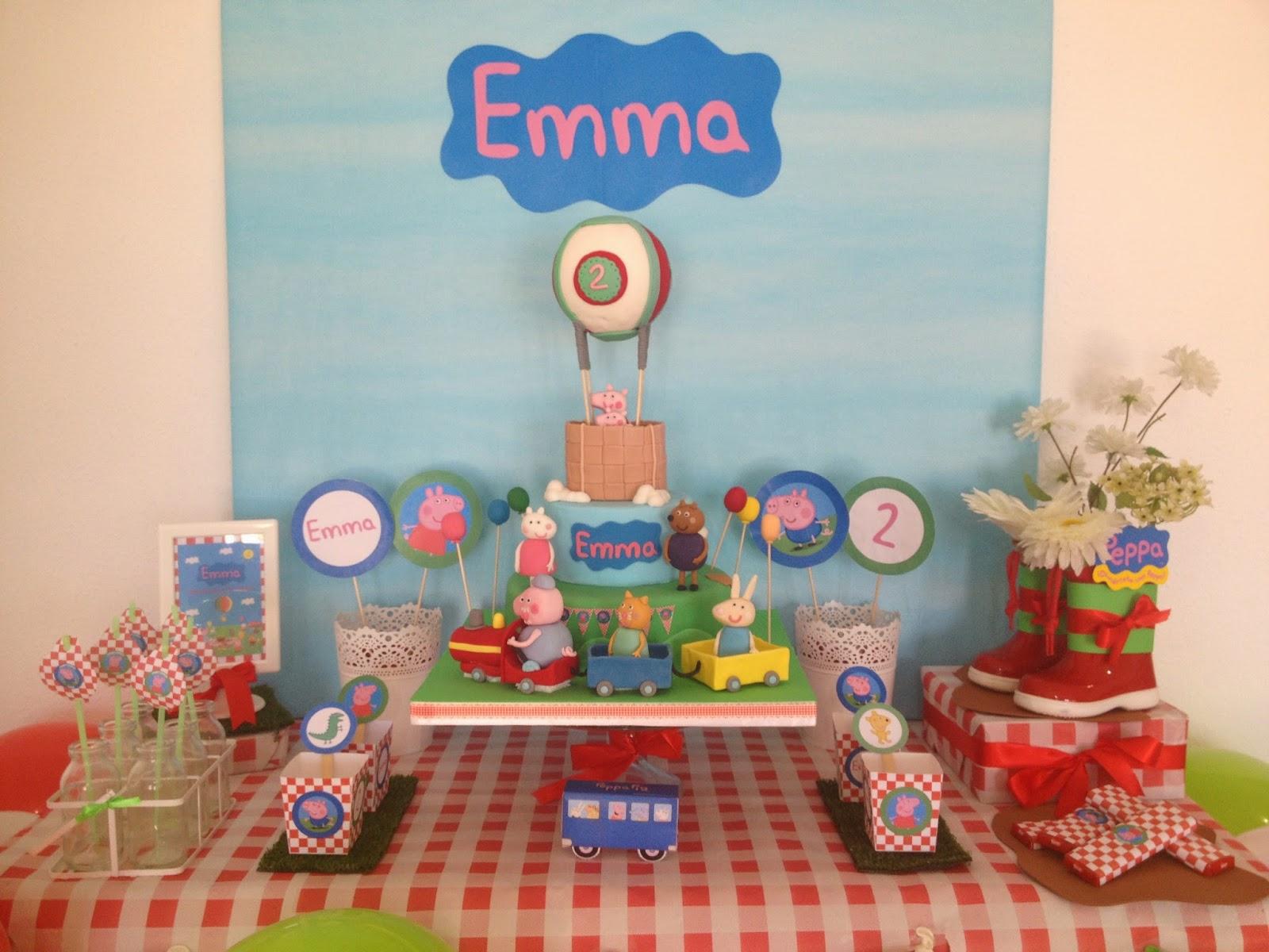 Tarta Peppa Pig Y Amigos Dulce Emma