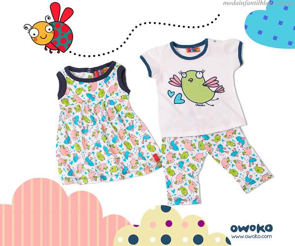 moda para verano 2014 owoko niñas
