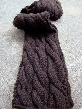 Try Spud and Chloe Sweater Yarn with a Free Scarf Pattern!
