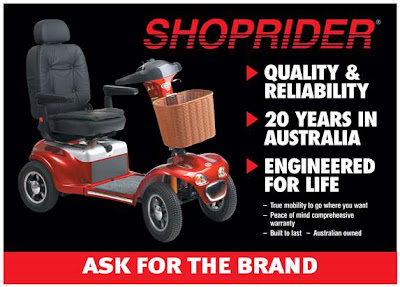 Retail Poster for Purchase Gopher Mobility Scooter