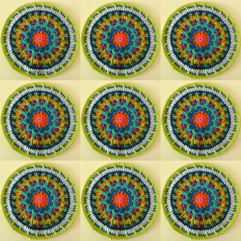 Mandala Madness pattern links