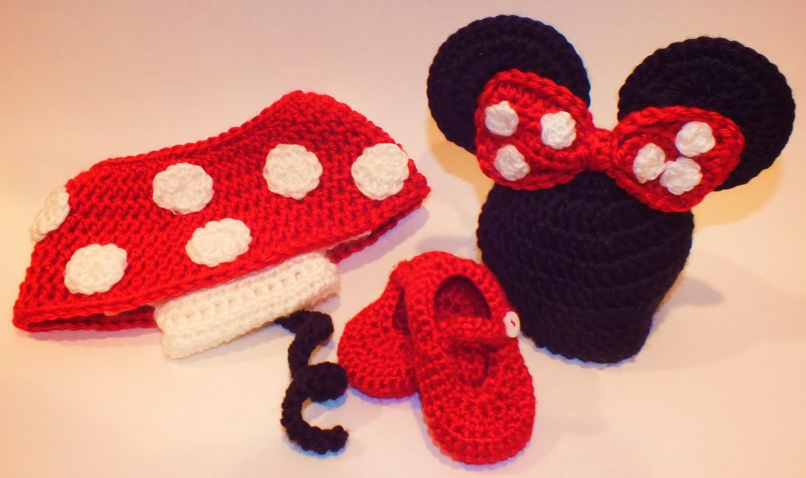 Free Crochet Pattern For Baby Minnie Mouse Outfit : Connies Spot? Crocheting, Crafting, Creating!: Crochet ...