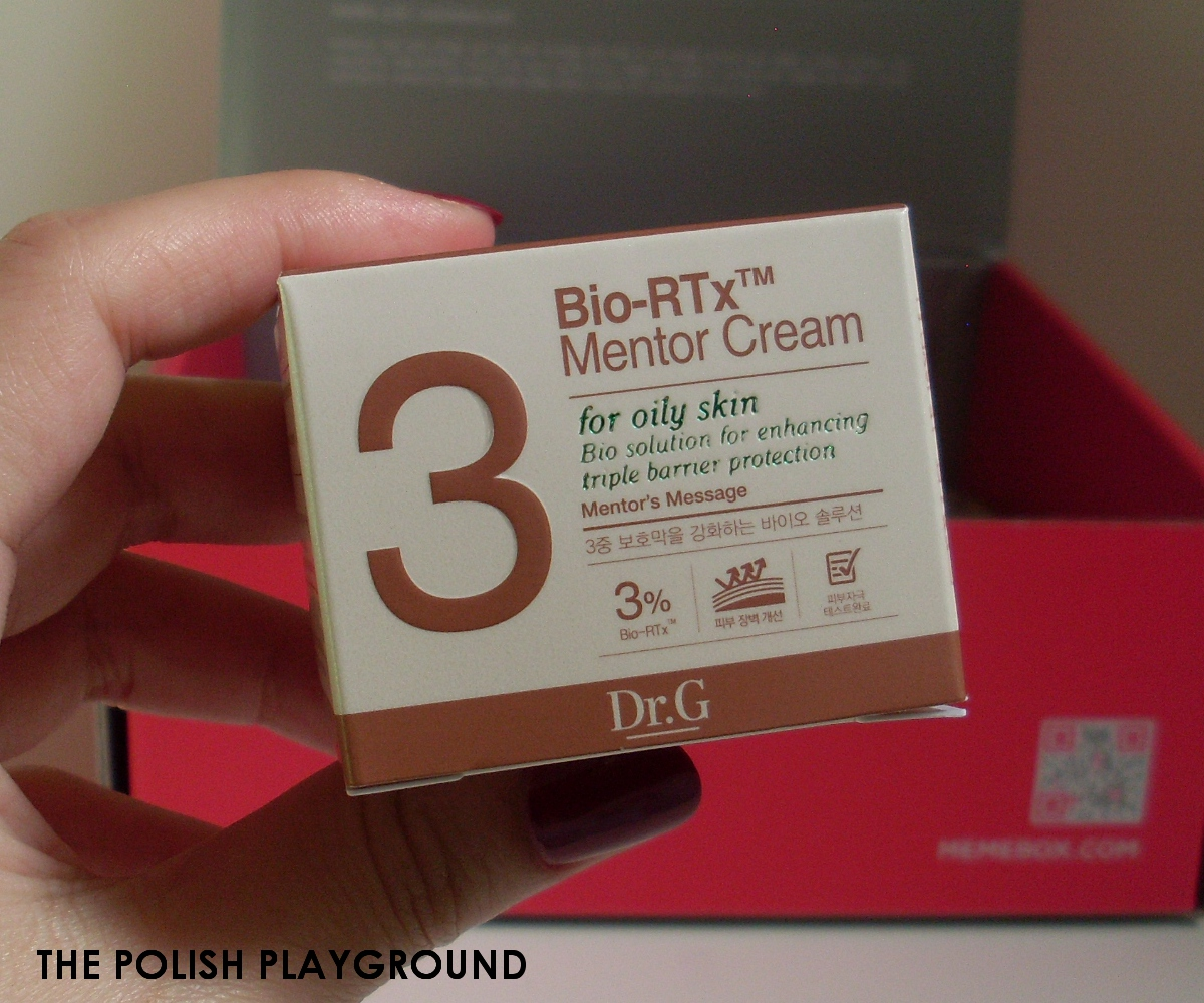 Memebox Luckybox #2 Unboxing - Dr.G BIO-RTx Mentor Cream