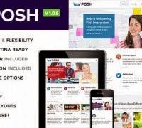 Wordpress: Permalink to Posh v1.0.5 – Responsive Multi-Purpose