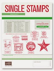Single Stamps Kerst
