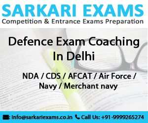 Best NDA Exam Coaching in Delhi