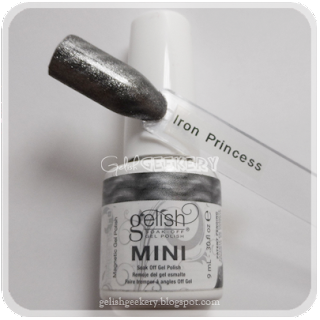 Gelish Swatch Iron Princess