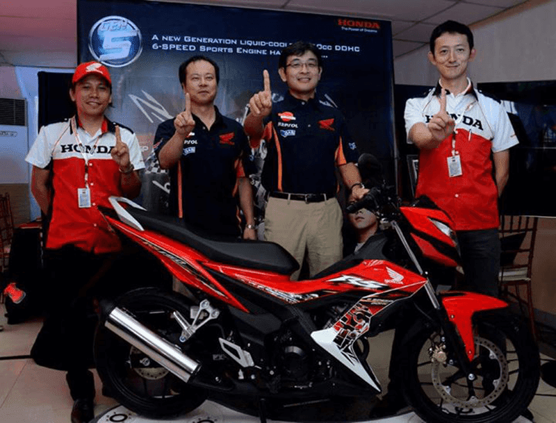 Honda Officially Launched The New Gen-S Powered All New RS150!