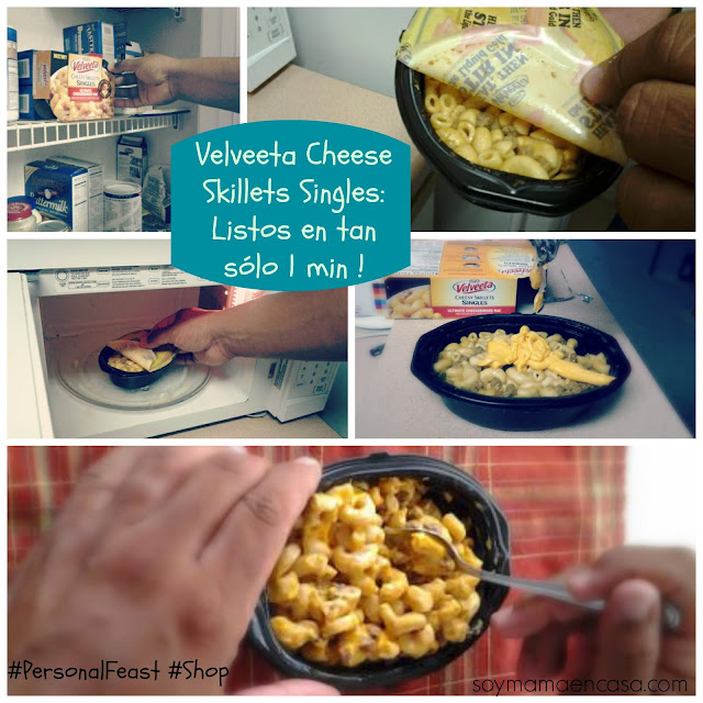 Velveeta Cheese Skillets Singles #PersonalFeast #Shop comidas faciles