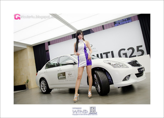 5 Hwang Mi Hee - Infiniti G Racing Limited Edition-very cute asian girl-girlcute4u.blogspot.com