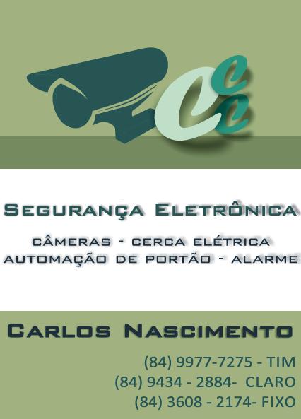 SEGURANÇA ELETRÔNICA - CARLOS NASCIMENTO