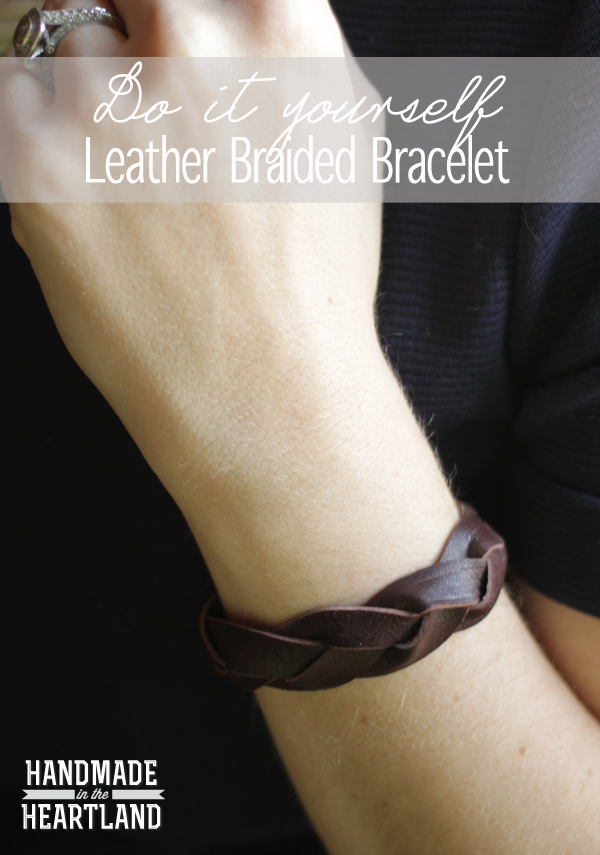 Diy leather braided bracelet handmade in the heartland hi friends this morning i went on fox4 and shared some ideas for diy jewelry and im excited to share all the fun projects with you throughout this week fandeluxe Gallery