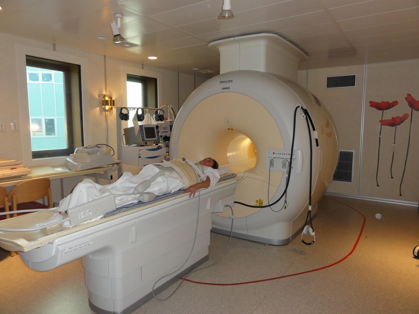 vad ser man på magnetröntgen av ryggen