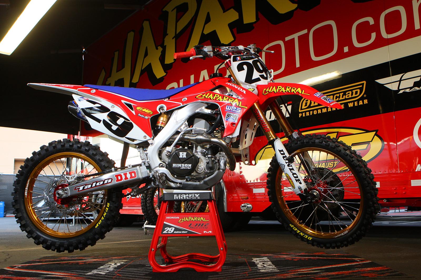 Racing caf 232 supercross racing motorcycles 450 class 2013