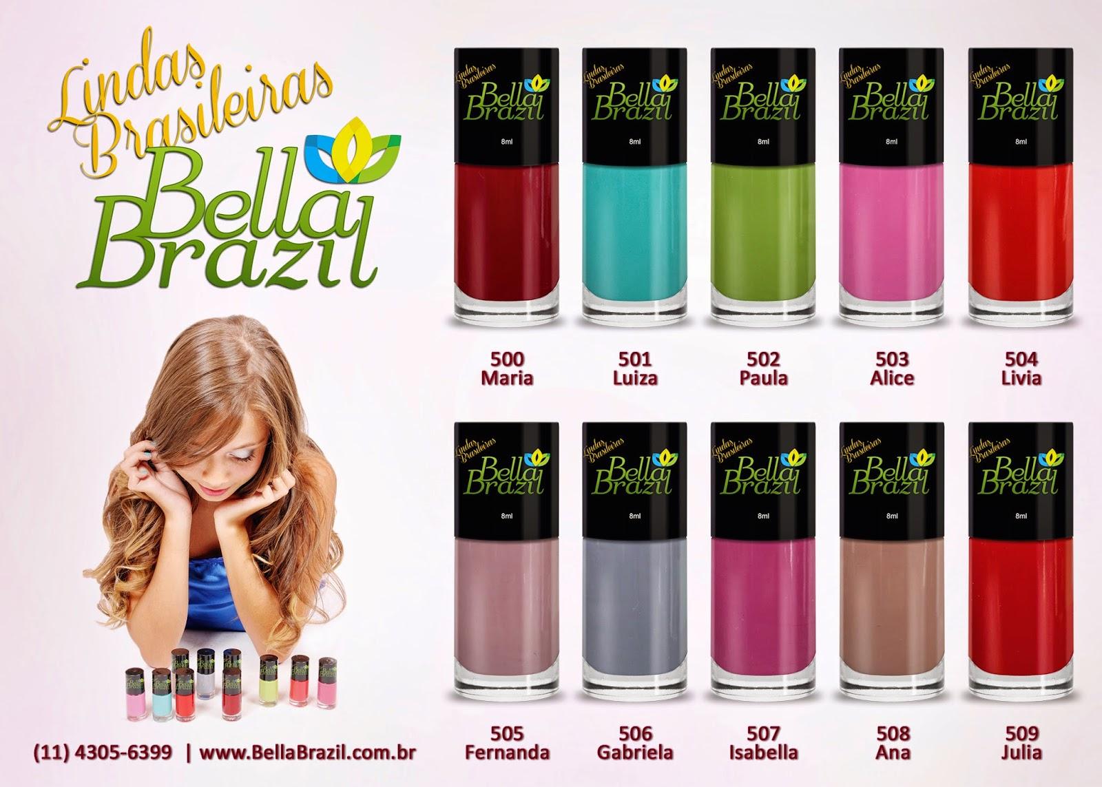 Lançamento Bella Brazil - Coleção Lindas Brasileiras