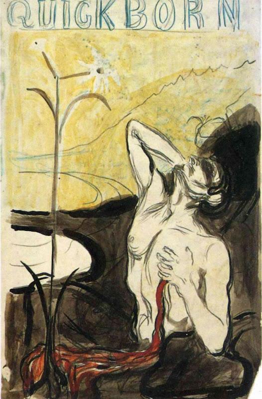 Quickborn: Smertens blomst - Edvard Munch - Blossom of Pain