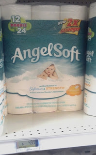 Commissary Angel Soft Toilet Paper 17 Per Single Roll