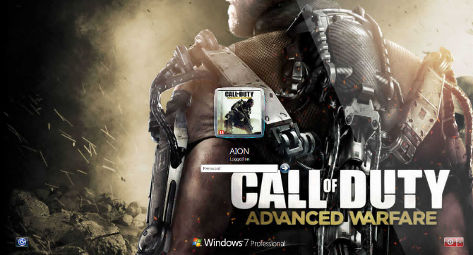 call of duty advanced warfare windows 8 themes download