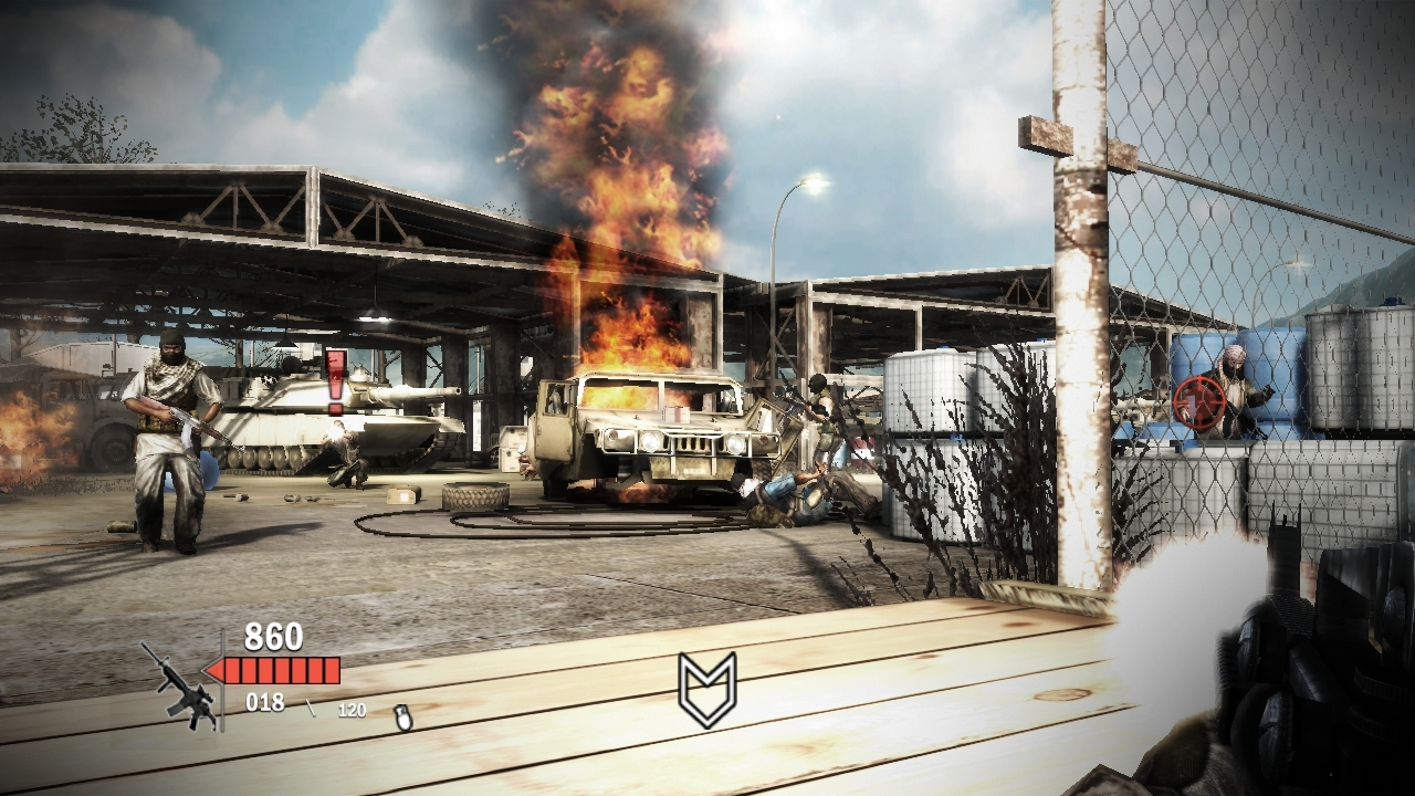 heavy fire afghanistan PC skidrow screenshot
