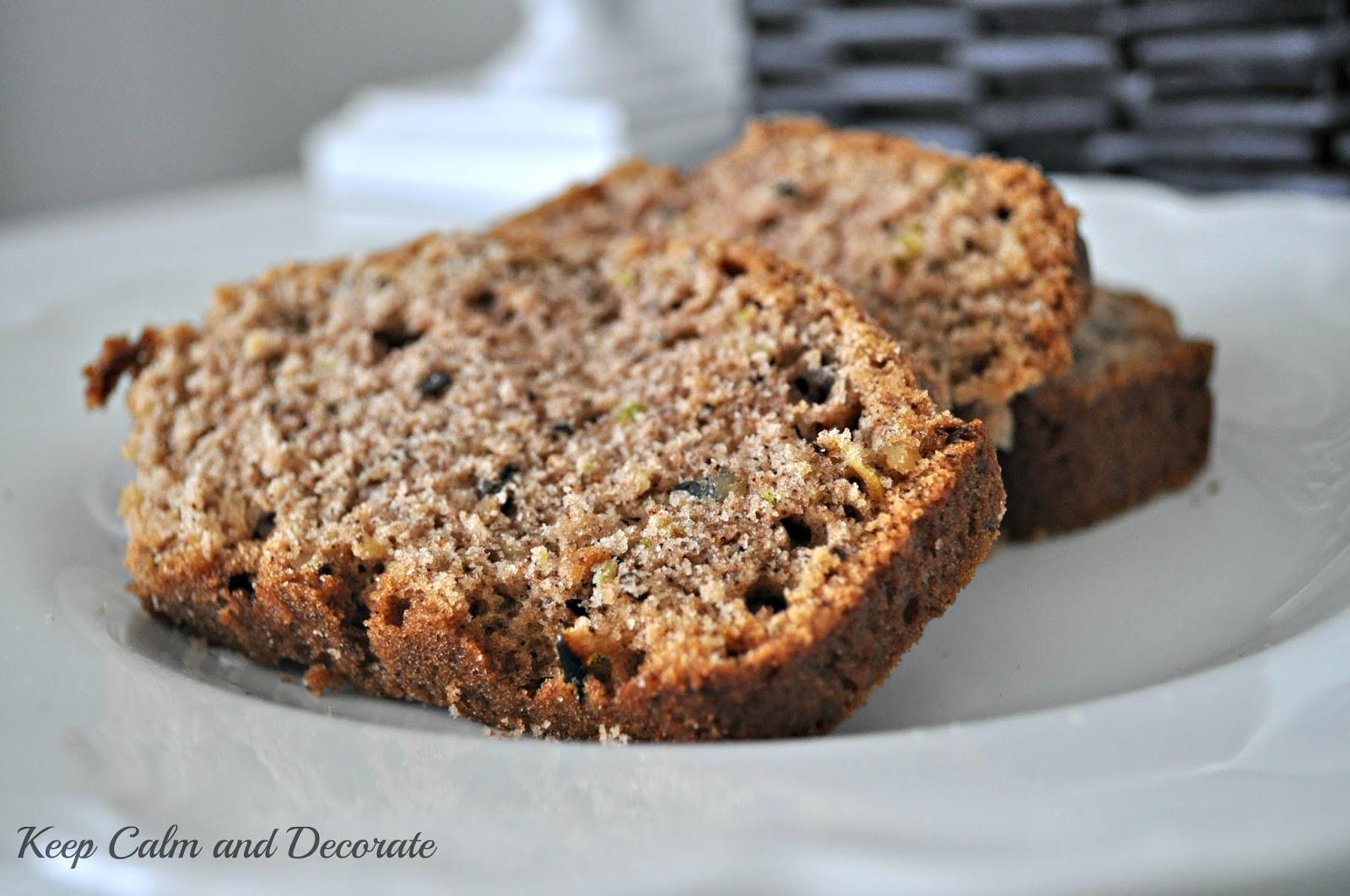 Keep Calm and Decorate: Grandma's Zucchini Bread Recipe