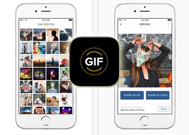如何將iPhone 6s Live Photos轉GIF或影片分享