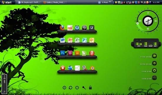 Download - Mempercantik Tampilan Desktop Dengan Software/ Tools