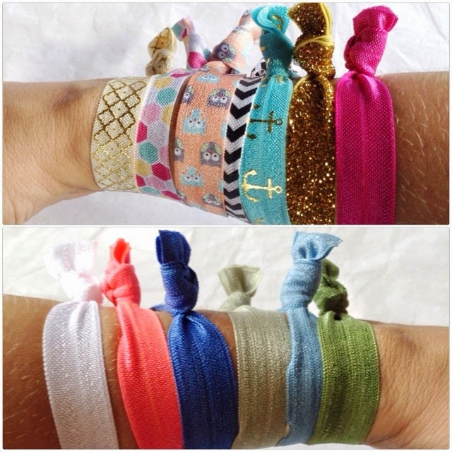 hair ties, bel fiore, hair products