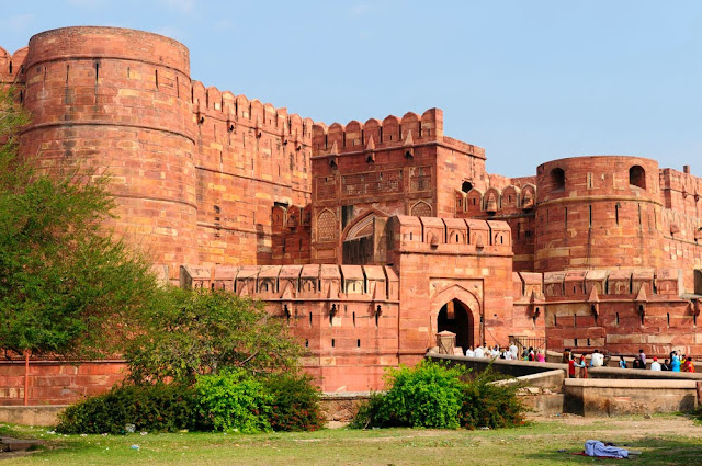 wallpapers of red fort and lal quila for tourists