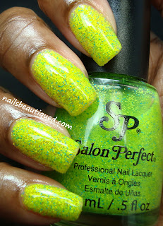 Salon Perfect Zapped textured polish