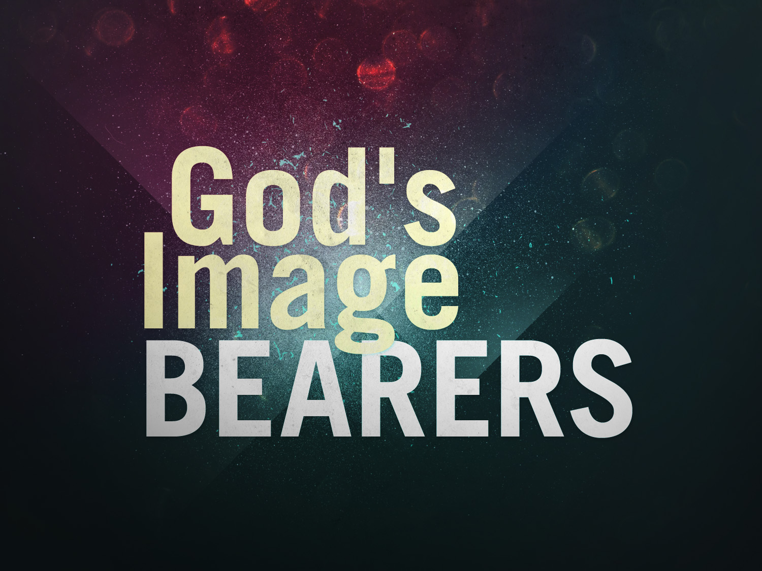When god created us in his own image...?
