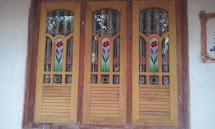 Design Kerala Style Front Door with Windows