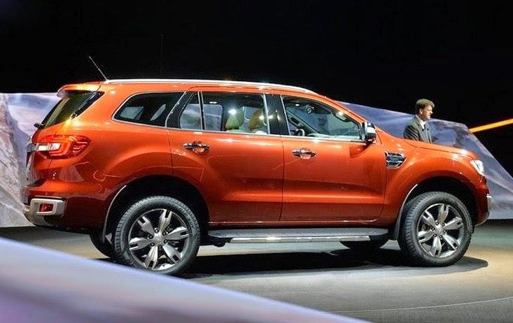 Форд Эверест 2015 старт продаж в России