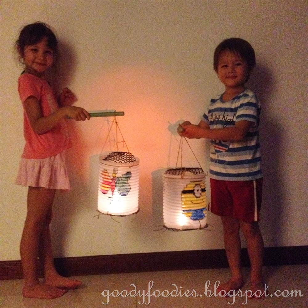 Kids Were Super Excited To Parade Around The Living Room With Their Handmade Lanterns