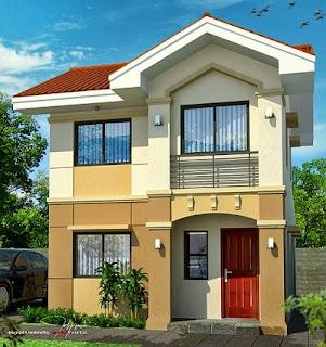 Desain Rumah Sederhana 2 Lantai Type 36