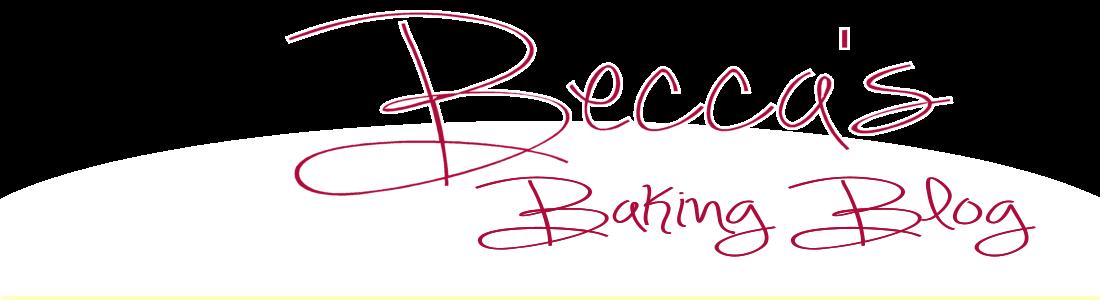 Becca's Baking Blog