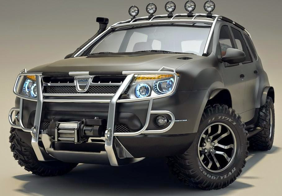 moto custom dacia duster tuning 2014