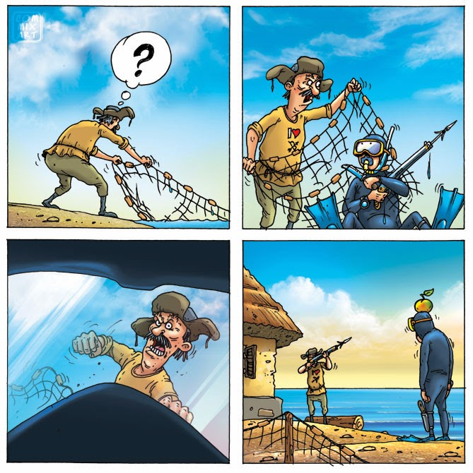 Приключения рыбака и золотой рыбки