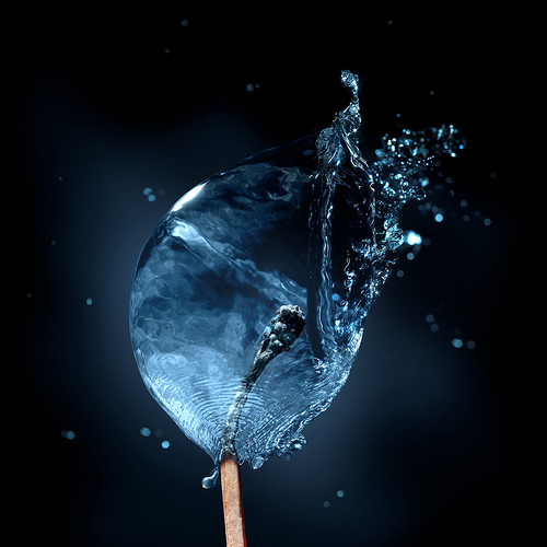 Creative Wallpapers: ALL-IN-ONE WALLPAPERS: Creative Water Fire Wallpapers