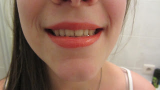 Clothes & Dreams: #Shoplog: Manhattan: lip colour & gloss after application