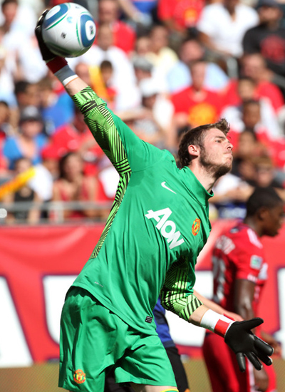 Goalkeeper Man Utd David De Gea Wallpaper