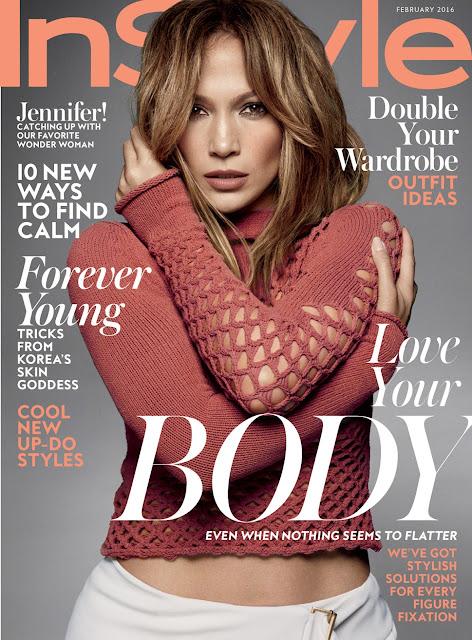 Actress, Singer, @ Jennifer Lopez - InStyle February 2016