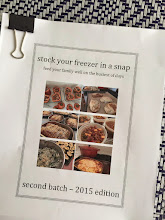 instantly downloadable ebook - SECOND BATCH OF MAKE-AHEAD RECIPES (NEW - 2015)