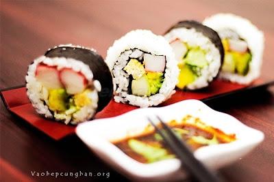 Cách làm sushi đơn giản tại nhà 6