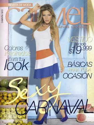 catalogo carmel moda campaña 18 2013