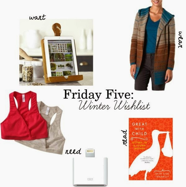 Friday Five: 2014 Winter Wishlist