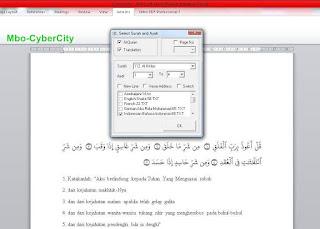 AlQulan in Word