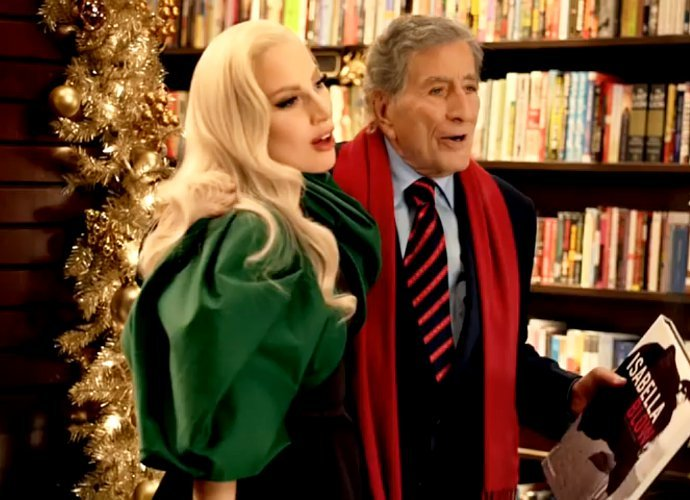 its just mid november but were already deep into the holiday marketing campaigns lady gaga and tony bennett are in a christmas commercial singing baby