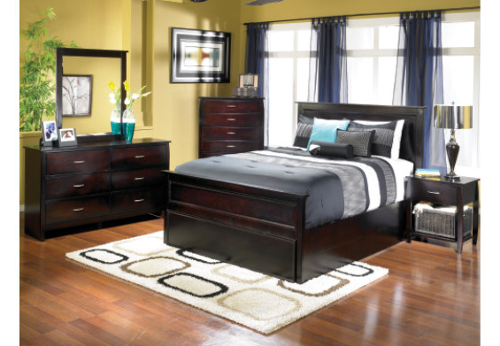 Metro Espresso 7 Piece Bedroom At Furniture Warehouse The 399