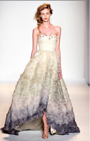 Diffe Color Wedding Dress
