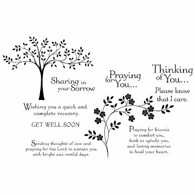 Stampin'UP!'s Thoughts and Prayers stamp set